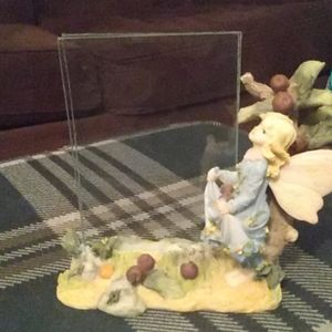 fairy picture frame with detachable glass for pics
